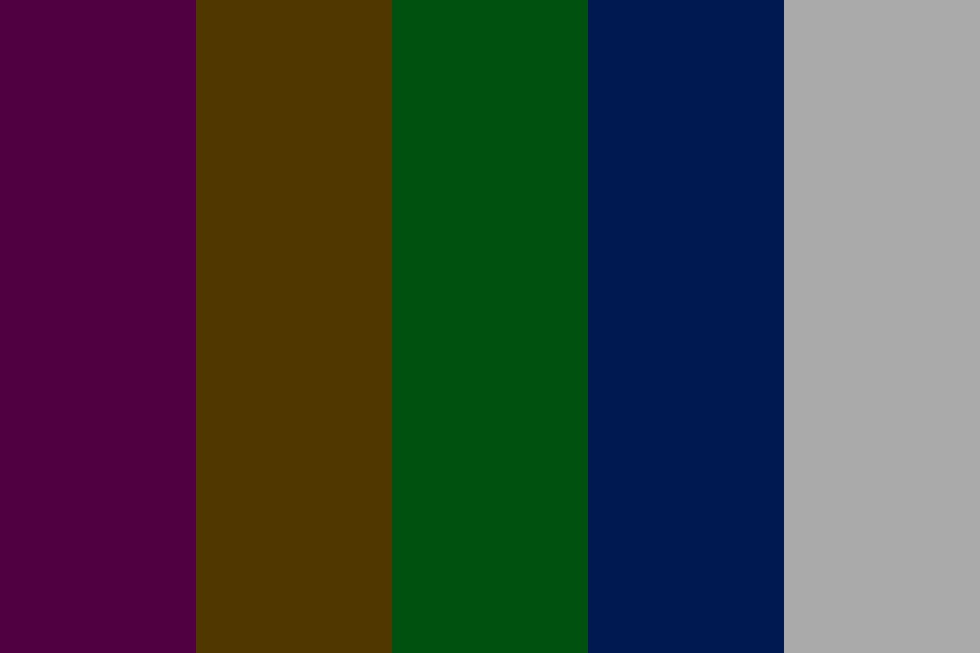 Llani Purple Tetradic Color Palette