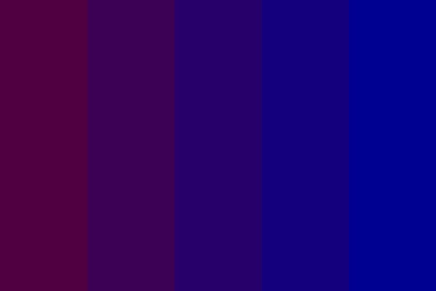 Llani Purple To Blue Color Palette