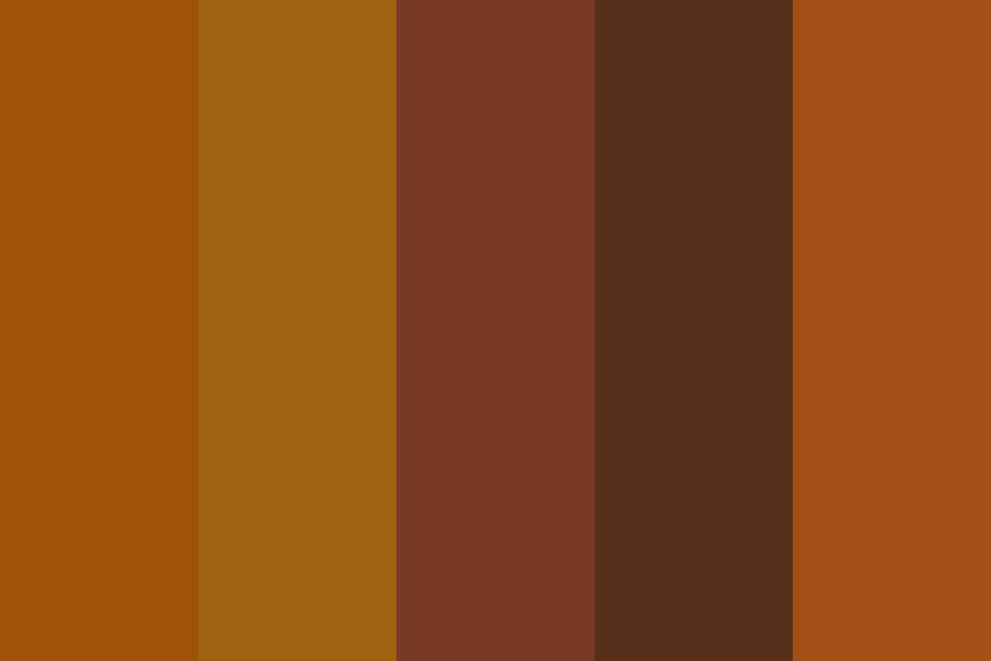 Logo Browns Color Palette
