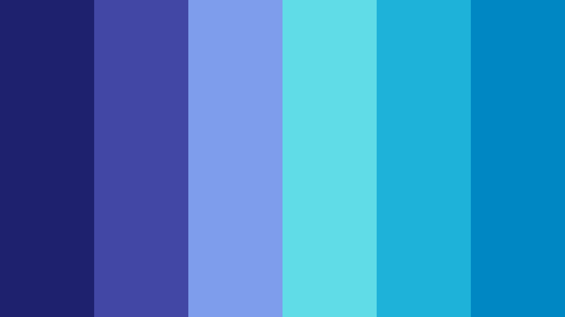 Lost In Nature s Blues Color Palette