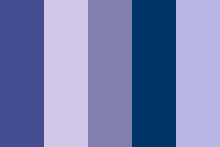 Lost In Space Color Palette