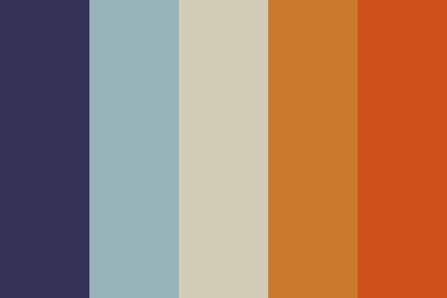 Lost In The Desert Color Palette