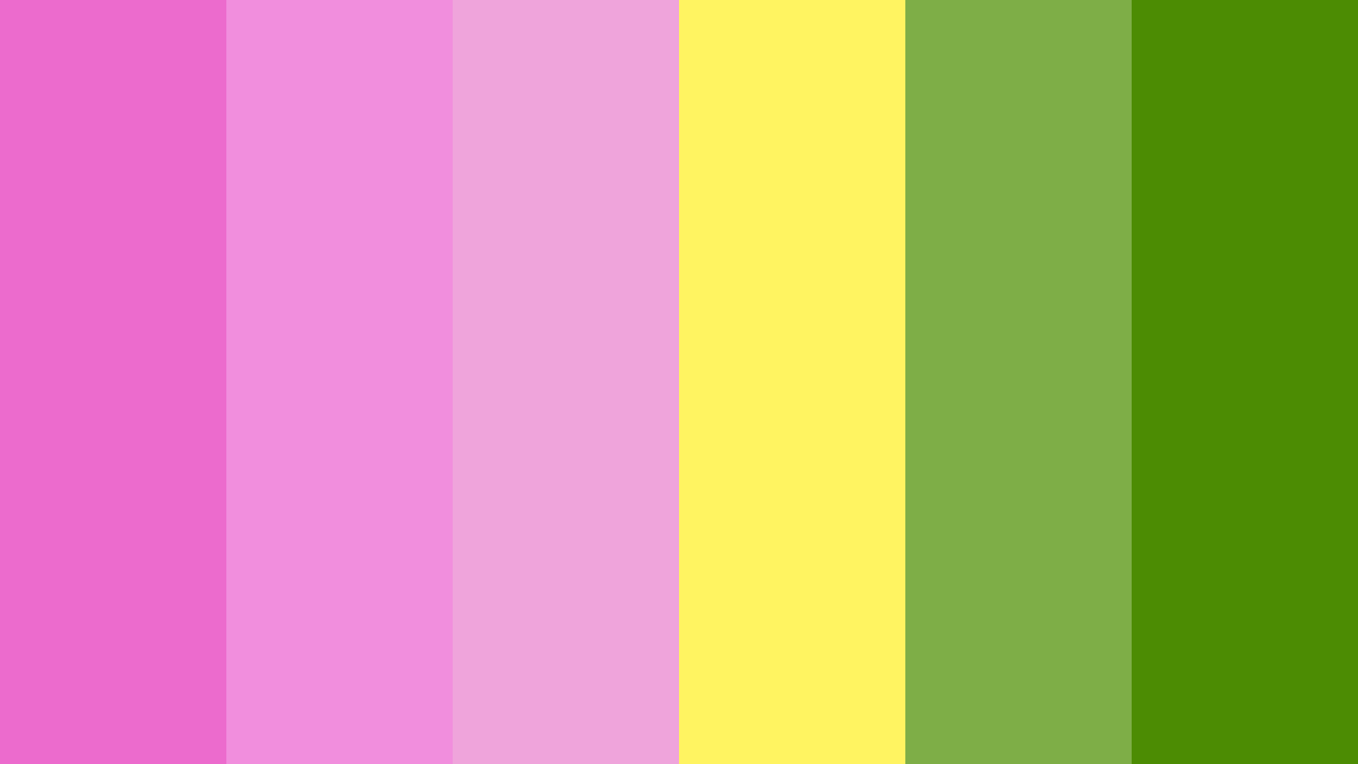 Lotus Blooms Color Palette