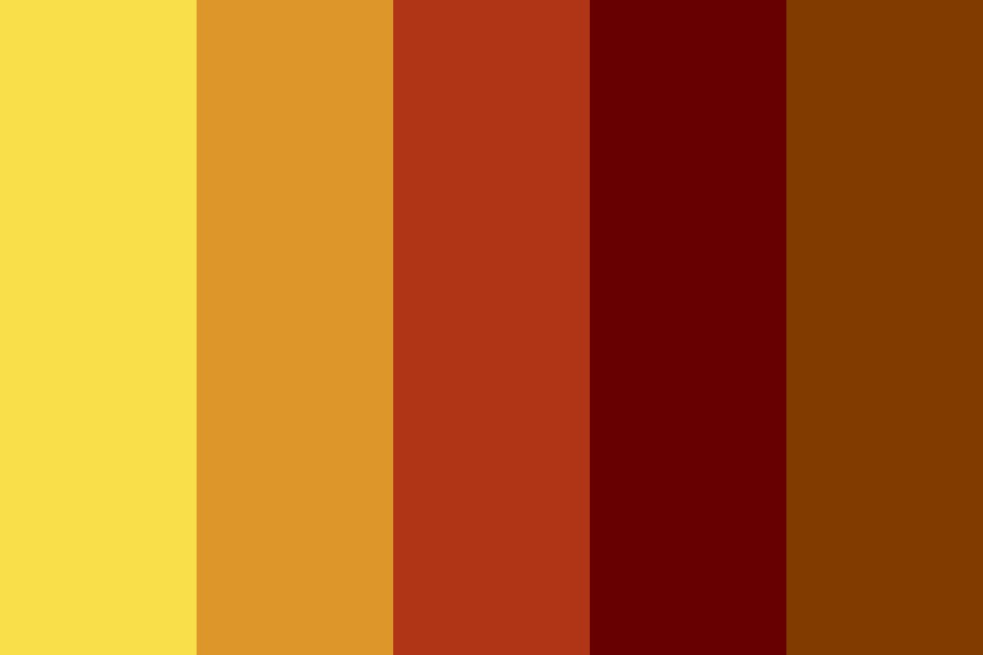 Lueyfall Color Palette