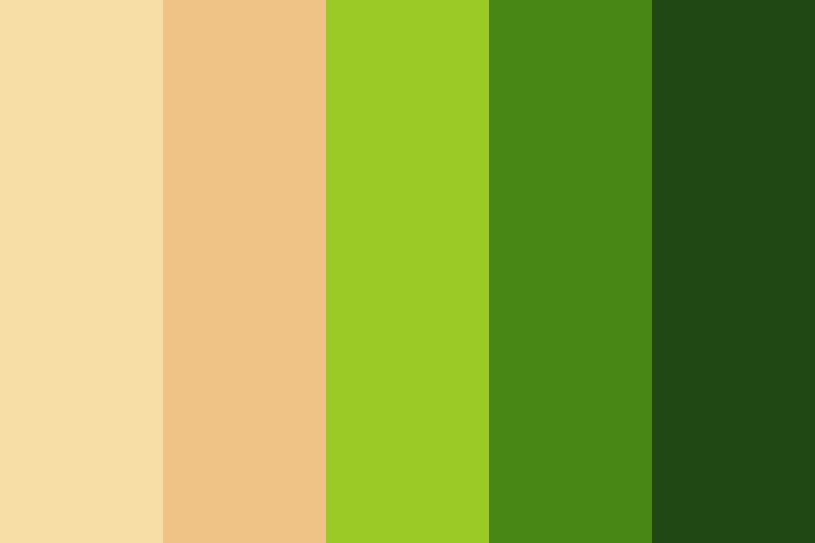 Lush Green Oasis Color Palette