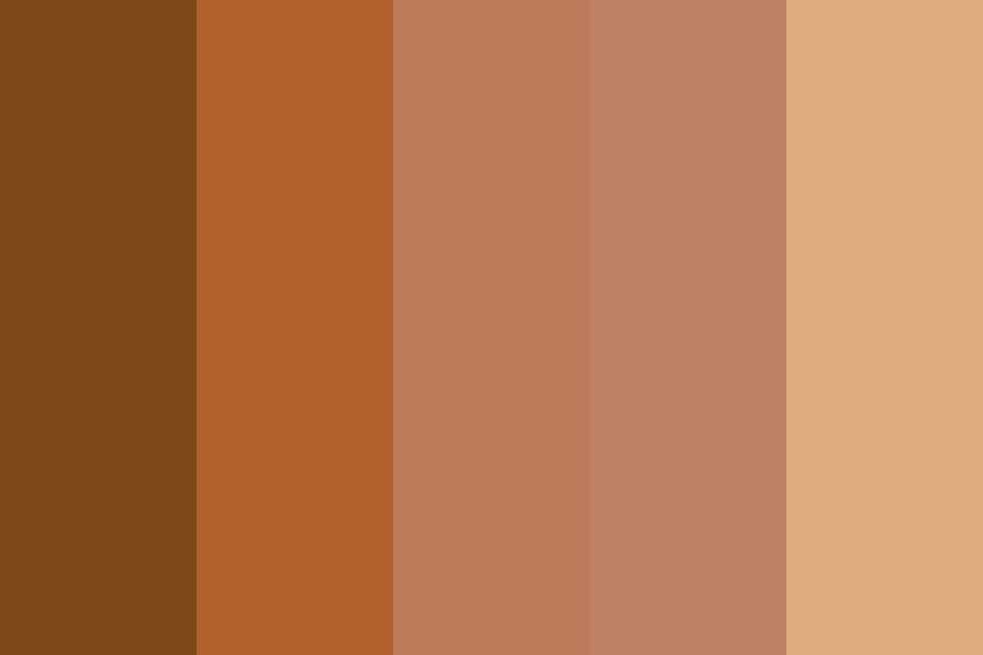 M Orange Reds Color Palette