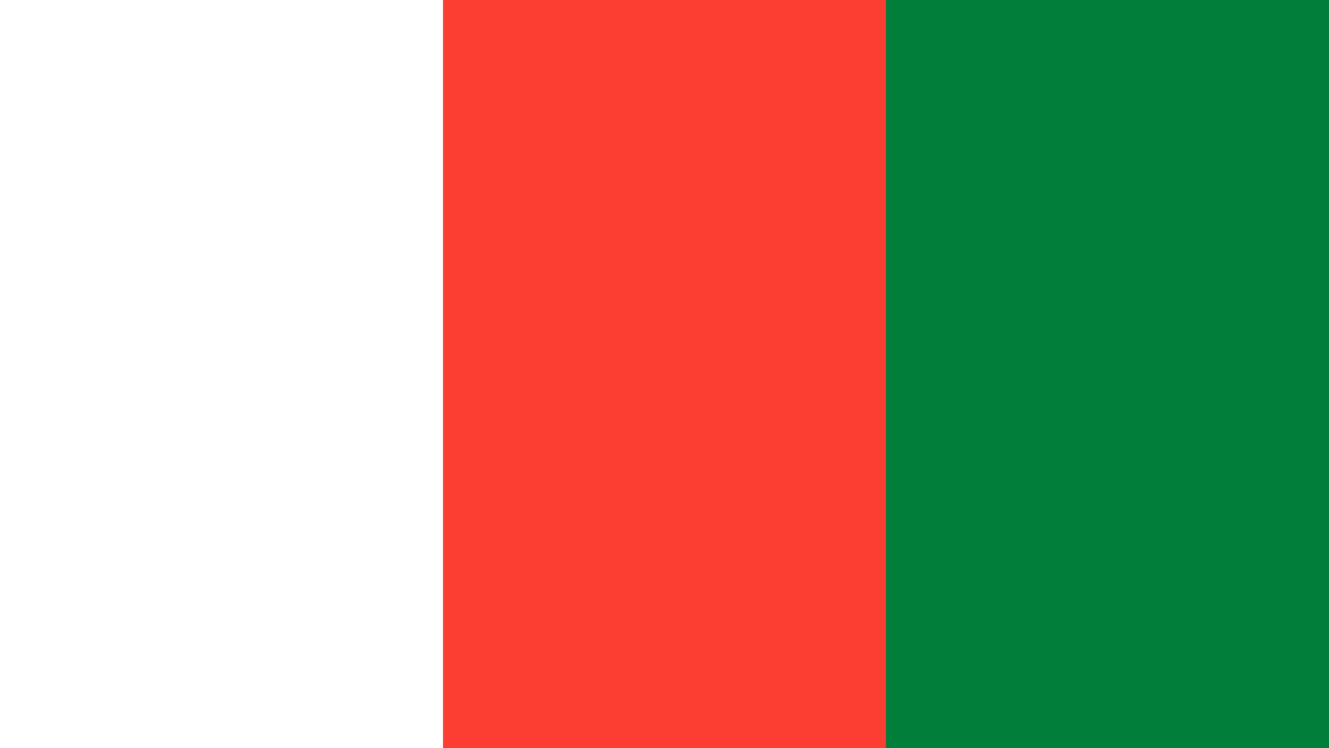 Madagascar Flag Color Palette