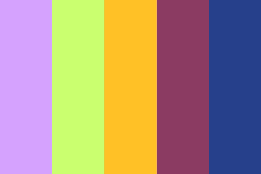 Magbored Color Palette