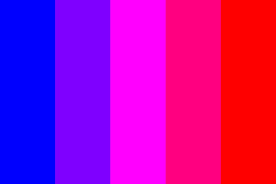 Magenta Analogous Color Palette