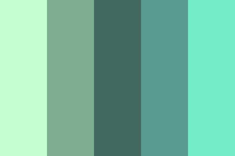 Magical Mystery Ocean Color Palette