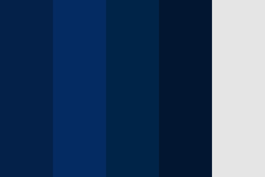 Main Blue Options Color Palette