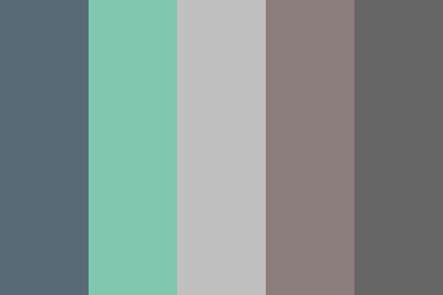 Main Colors Soft Blog Color Palette