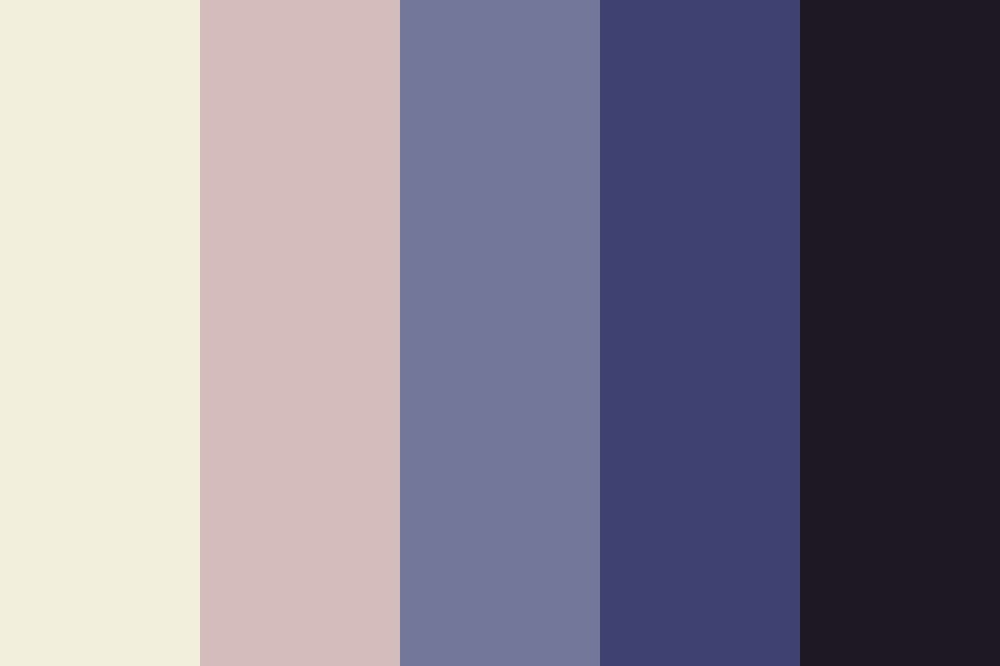 Making Amends At Midnight Color Palette