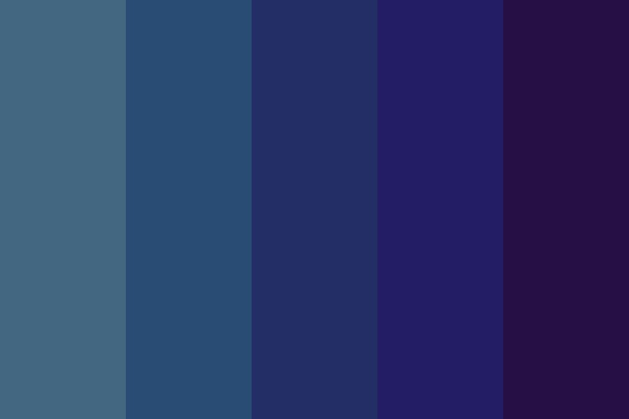 Man After Midnight Color Palette