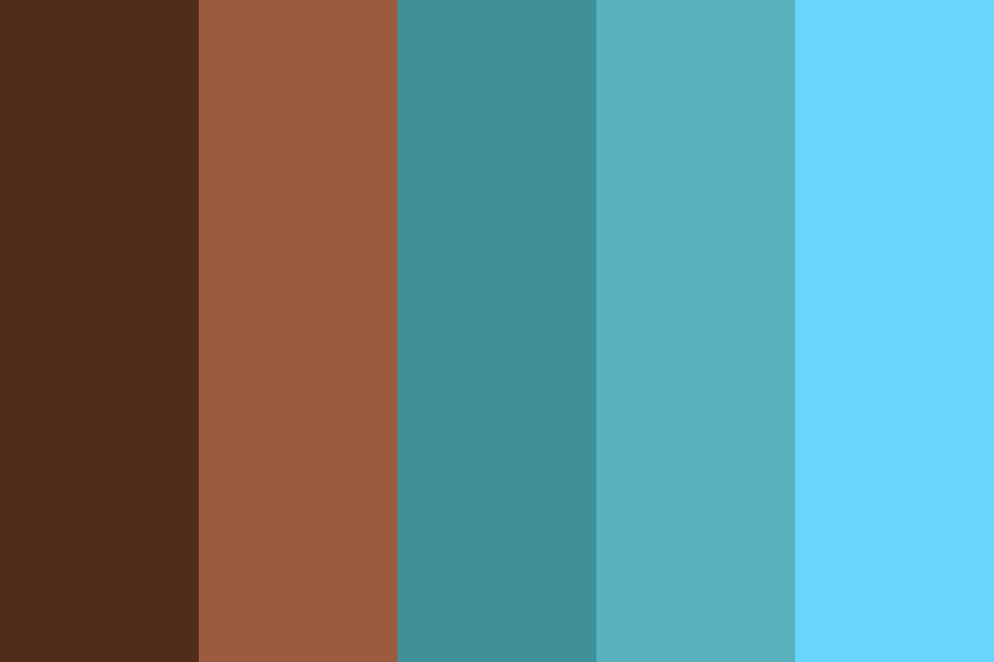 Marching To The Ocean Color Palette