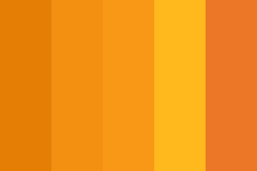 Marigolds Color Palette