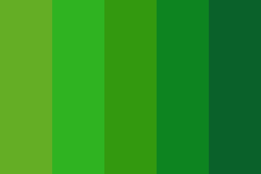 Marine Green Color Palette