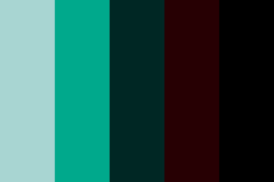 Marley   Teal And Brown Color Palette
