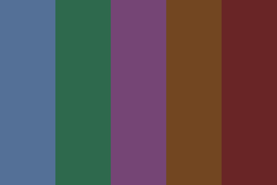 Maroon Colors Color Palette