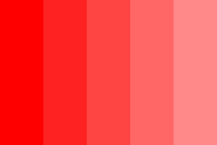 Marsreds Color Palette