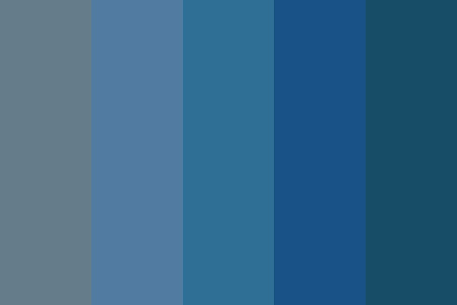 Maybe Blue Color Palette