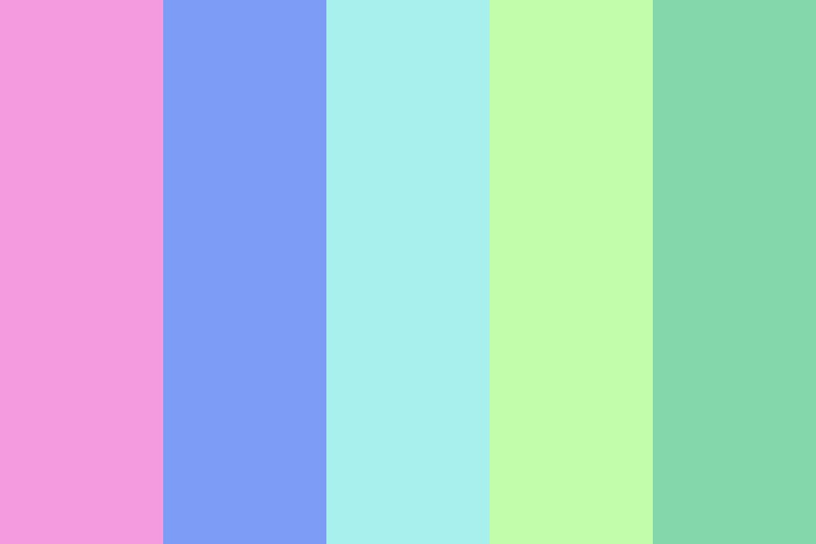 Maybe In The Springtime Color Palette
