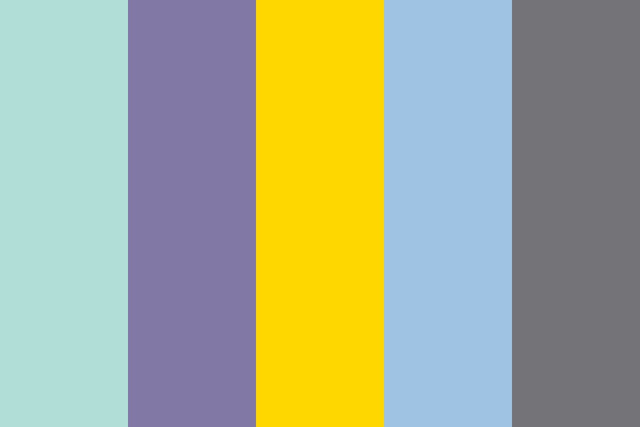 Mealtimes Reordered Color Palette