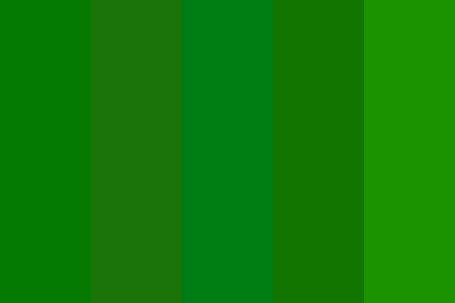 Mean Green Jean The Oxygen Queen Color Palette