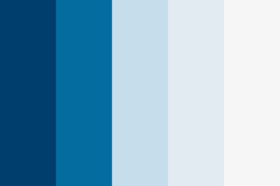 Meaningful Blue Color Palette