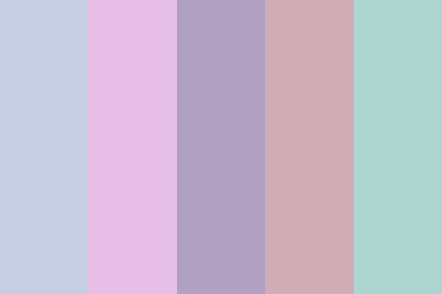 Meaningless Pastels Color Palette
