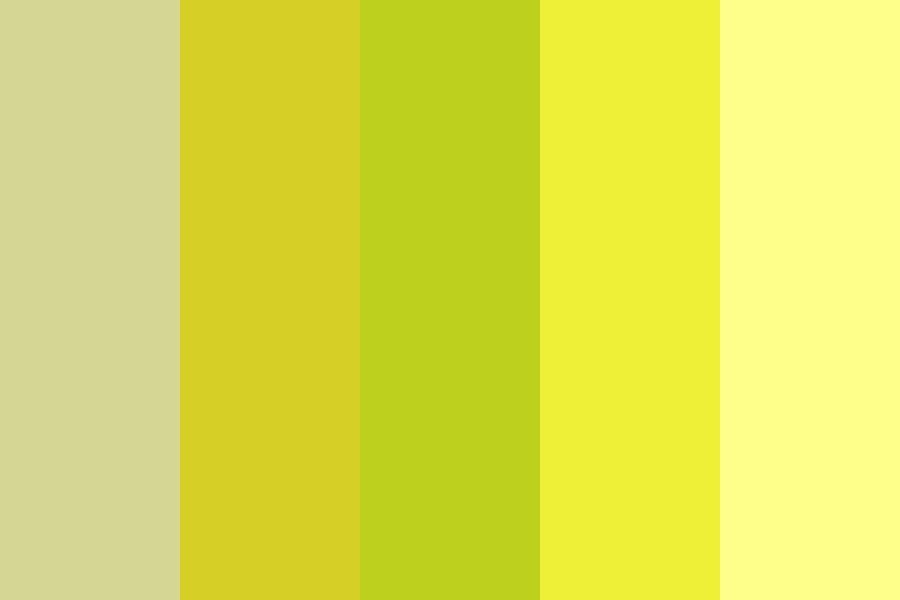 Mellow Yellow Color Palette