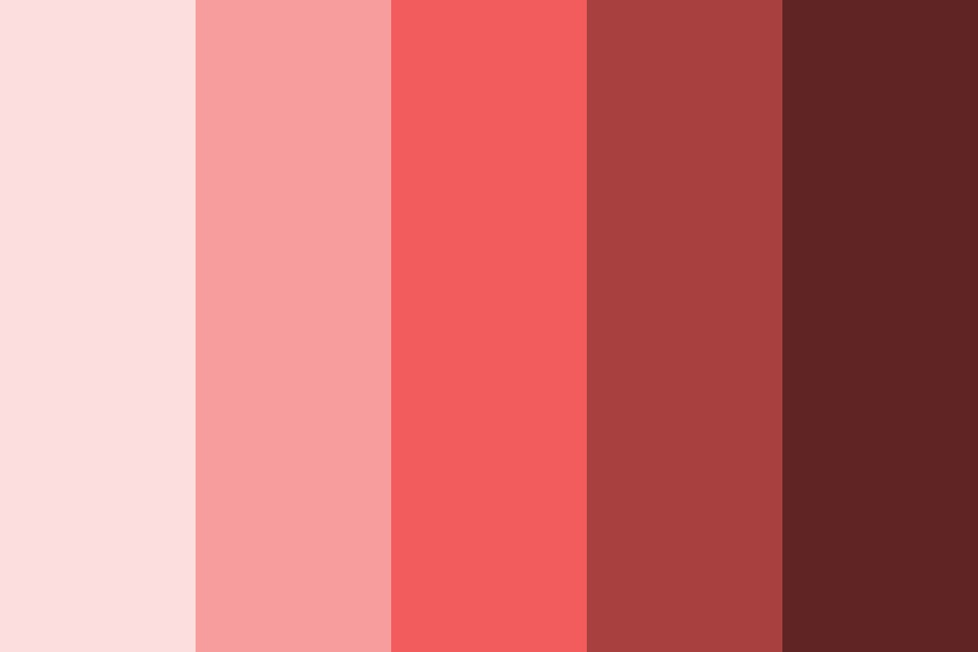 Memory Reds Color Palette