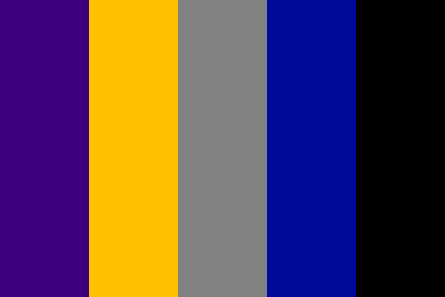 Meta Knight Color Palette