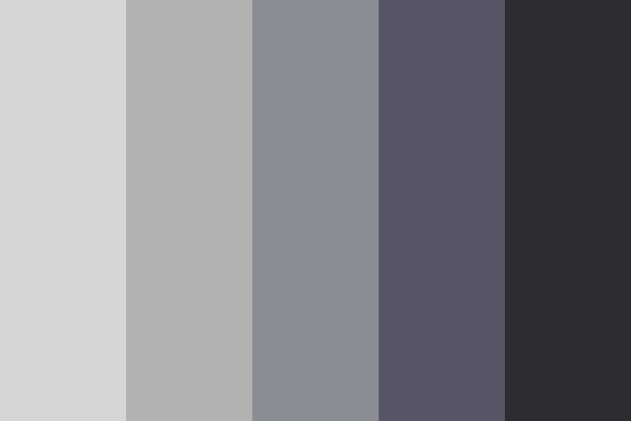 Metal In The Dark Color Palette
