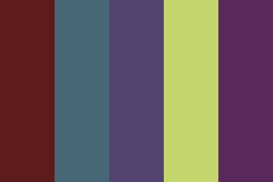 Midnight Avenue Color Palette