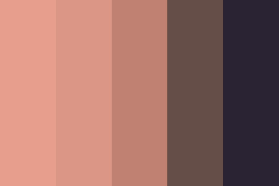 Midnight Bloom Color Palette