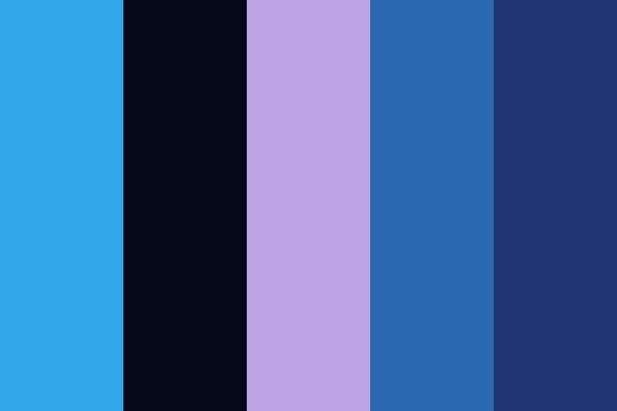 Midnight Clouds Color Palette