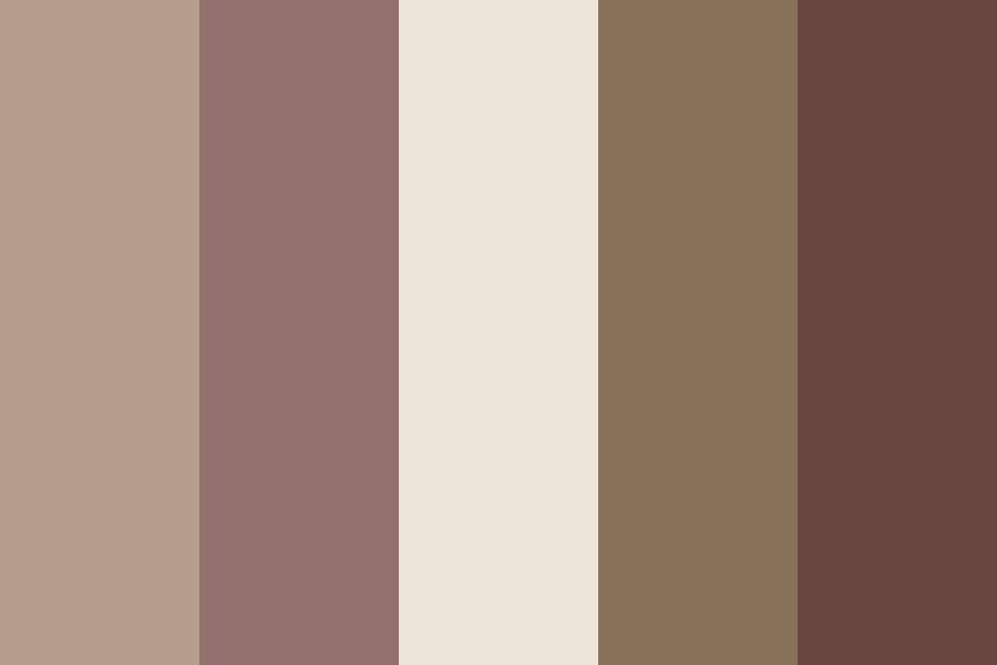Midnight Coffee Color Palette