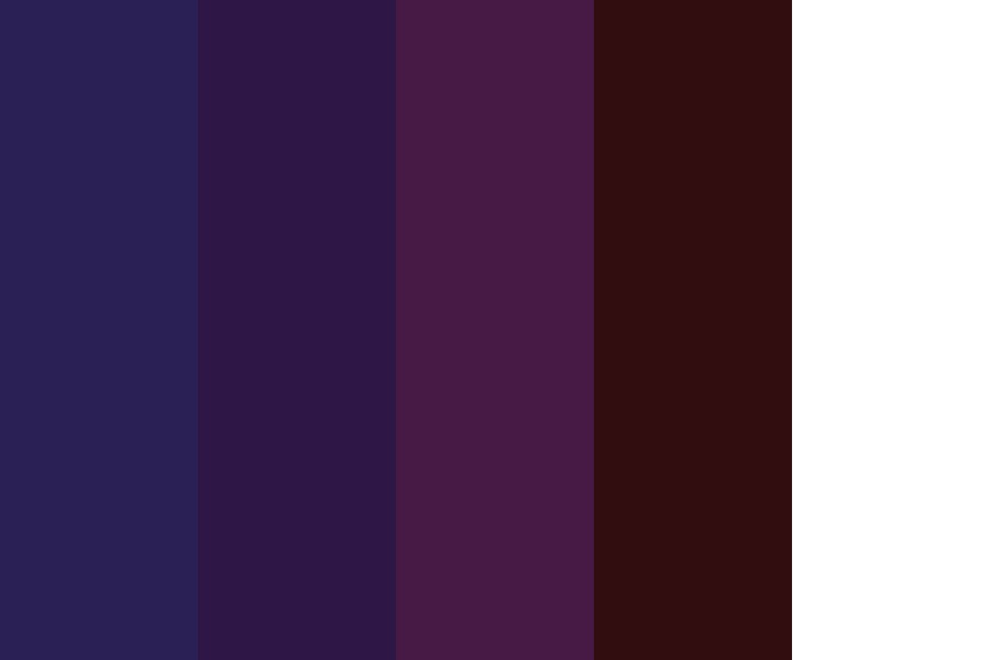 Midnight Galaxy Color Palette