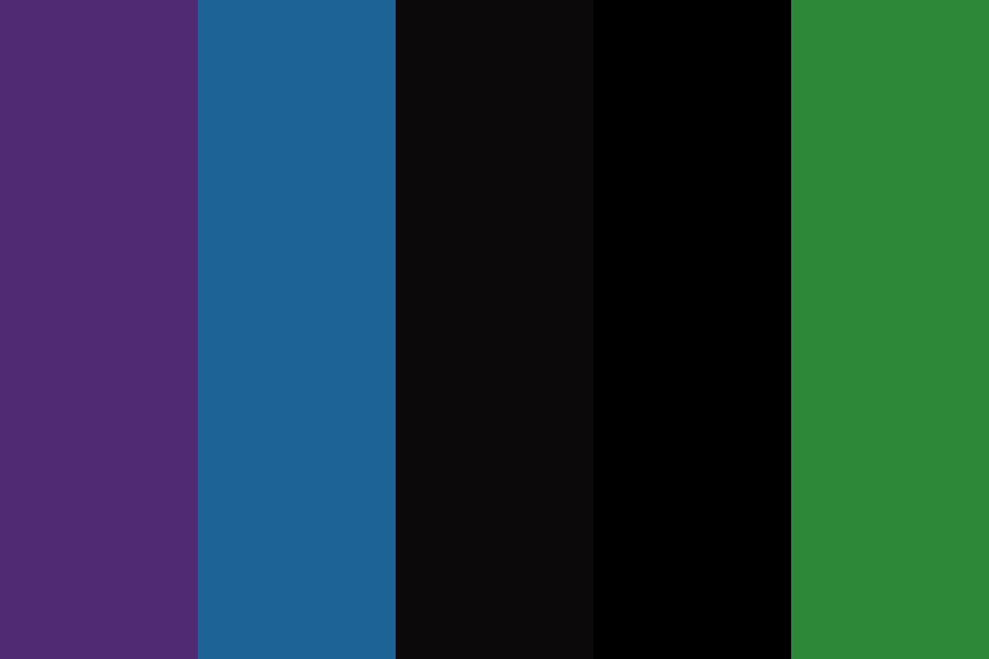 Midnight Onyx Color Palette
