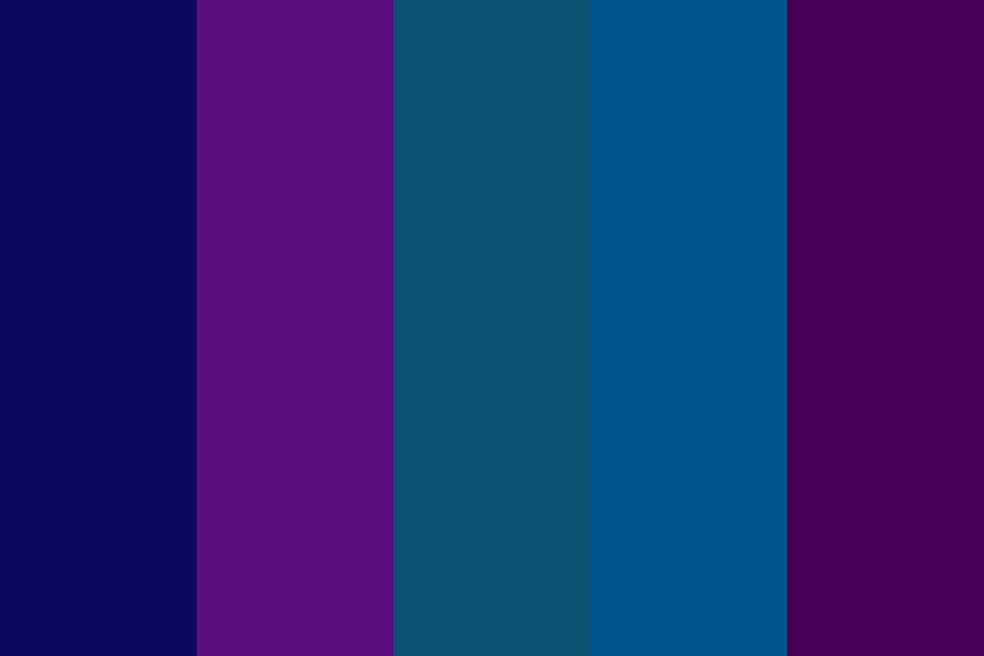 Midnight Owl Color Palette