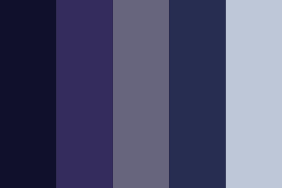 Midnight Shades Color Palette