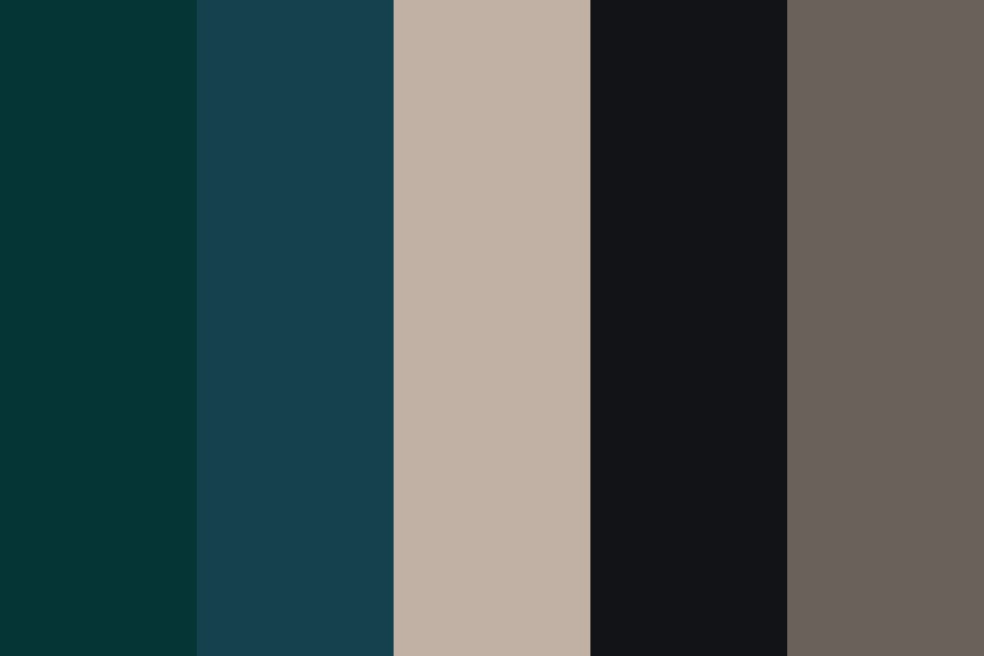 Midnight Skyed Morning Color Palette