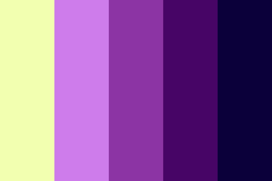 Midnight Star Color Palette