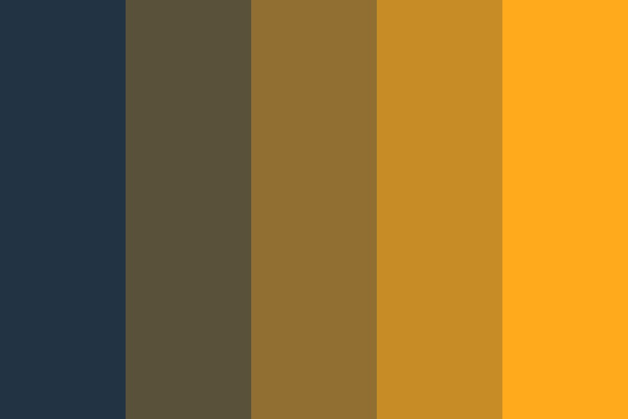 Midnight Stroll Color Palette