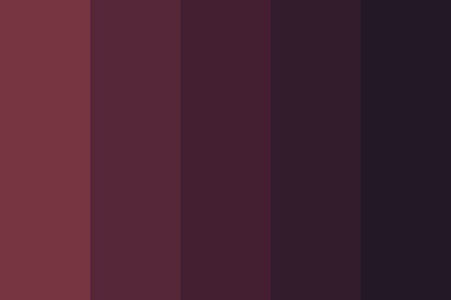 Midnight Thievery Color Palette