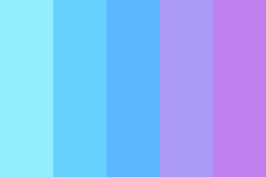 Midsummer Nights Sky Color Palette