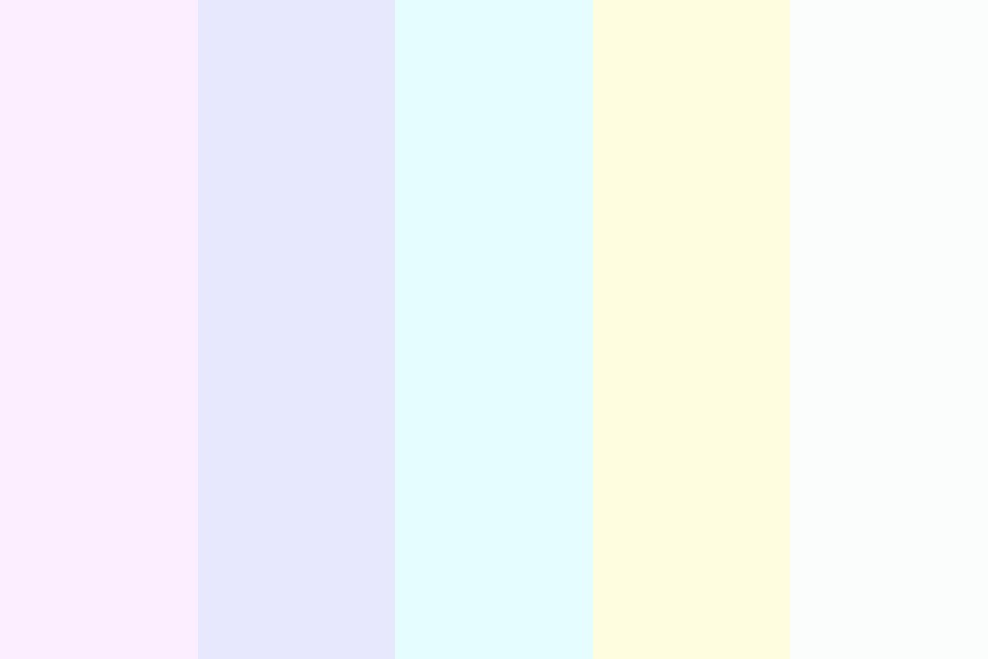 Milky Rainbow Color Palette