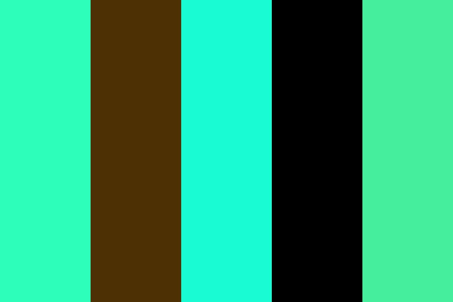Mint Icecream Color Palette