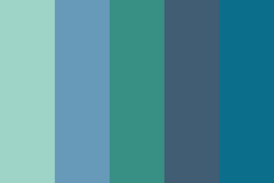 Mirror For The Ocean Color Palette